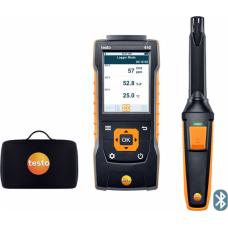 Testo 440. Комплект с Bluetooth крыльчаткой 100мм (0635 9431) и кейсом
