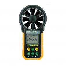 Анемометр (термогигрометр) крыльчатый цифровой с функцией измерения температуры и влажности и USB интерфесом МЕГЕОН 11007